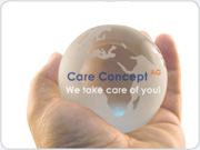 Weltkugel Care Concept AG
