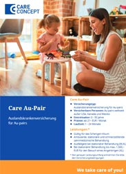 Highlight: Health insurance for au pairs
