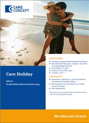 Highlight: Travel health insurance (holiday insurance)