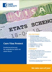 Highlight: Health insurance abroad for foreign visitors with a visa